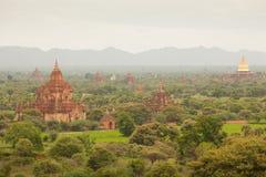 Alte Pagoden in Bagan Mandalay, Myanmar Lizenzfreies Stockfoto