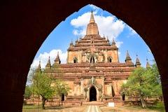 Alte Pagoden in Bagan, Myanmar Lizenzfreie Stockfotos