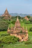 Alte Pagoden und Tempel Bagan Lizenzfreie Stockfotografie