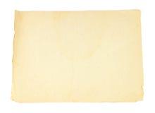 Alte Papierbeschaffenheit Stockfotografie
