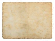 Alte Papierbeschaffenheiten Stockbild
