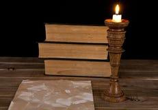 Alte Papiere und Bücher Lizenzfreies Stockfoto