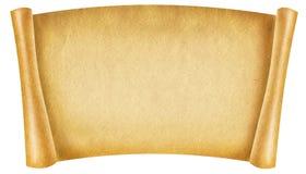 Alte Papierrolle lizenzfreie stockfotografie