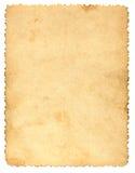 Alte Papierseite Lizenzfreies Stockfoto