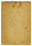 Alte Papierseite Lizenzfreies Stockbild