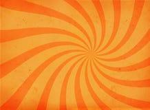 Alte Papierseite mit Rotationmotiv Stockfoto