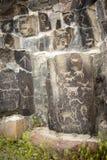 Alte Petroglyphen Cliff Drawings Ginko Petrified Forest Washington Stockbilder