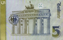 Alte Pfeifen-DM-Banknote, Bill Lizenzfreie Stockfotos