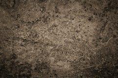 Alte pickelige befleckte Betonmauerbeschaffenheit Stockbild