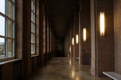 Alte Pinakothek博物馆的内部 图库摄影