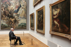 The Alte Pinakothek - Munich. The Alte Pinakothek (Old Pinakothek) is an art museum situated in the Kunstareal in Munich, Germany. It is one of the oldest Stock Photos