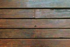 Alte Planked-Beschaffenheit des hölzernen Brettes Lizenzfreie Stockfotografie