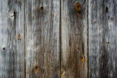 Alte Platten-hölzernes Hintergrund Vertikal-Grau Lizenzfreie Stockbilder