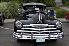 Alte Pontiac-Autoshow Lizenzfreie Stockfotos