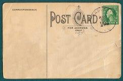 Alte Postkarte Stockfoto