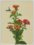 Alte Postkarte Stockfotos