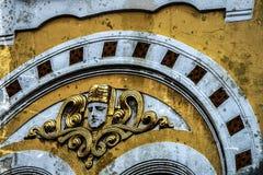 Alte Postkarte von einem historischen Gebäude Timisoara Stockbild