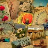 Alte Postkarten Lizenzfreies Stockfoto