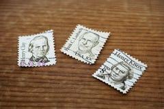 Alte Poststempel lizenzfreie stockfotos