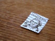 Alte Poststempel stockbild