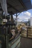 Alte Presse für Müllentsorgung 3 Lizenzfreies Stockbild