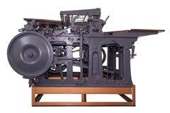Alte Pressemaschine Stockbild