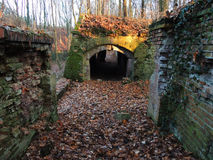Alte preussische Festung Stockfotos