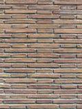 Alte römische Backsteinmauer Lizenzfreies Stockfoto