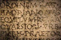 Alte römische Beschreibung Narbonne frankreich Lizenzfreies Stockfoto
