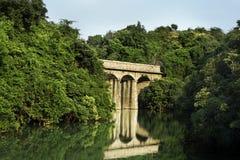 Alte römische Brücke Stockbilder