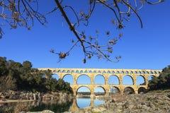 Alte römische Brücke Lizenzfreie Stockbilder