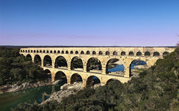 Alte römische Brücke Lizenzfreies Stockbild
