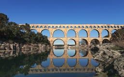 Alte römische Brücke Lizenzfreies Stockfoto