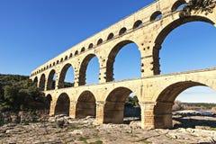 Alte römische Brücke Stockbild