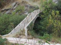 Alte römische Brücke Stockfoto