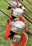 Alte römische Rüstung Stockfotos