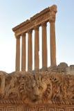 Alte römische Ruinen Stockbild