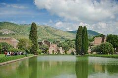 Alte römische Ruinen in Tivoli Lizenzfreie Stockbilder