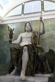 Alte römische Skulptur von Jupiter Lizenzfreies Stockfoto