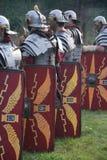 Alte römische Soldaten Stockfoto