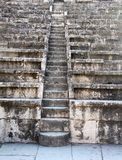 Alte römische Theater-Treppen Stockfoto
