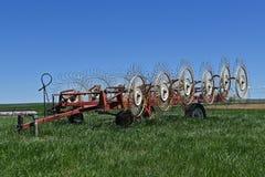Alte Radrührstange benutzt für das Heuen Lizenzfreie Stockbilder