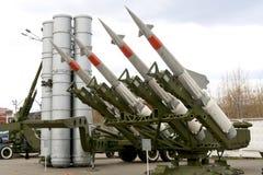Alte Rakete Stockfoto