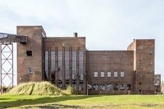 Alte Raketefabrik des Deutschen WW2 V2 lizenzfreie stockfotos