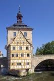 Alte Rathaus (vecchio municipio) Fotografie Stock