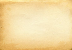 Alte raue Papierbeschaffenheit Stockbild