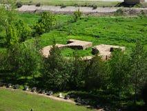Alte Regelung Burana mausoleum Grab von reichen Leuten Lizenzfreies Stockfoto