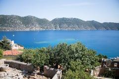 Alte Regelung in der Bucht von der Türkei Stockbild