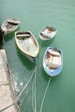 Alte Reihen-Boote Lizenzfreies Stockbild