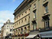 Alte Reihenhäuser, Bristol, Vereinigtes Königreich lizenzfreies stockbild